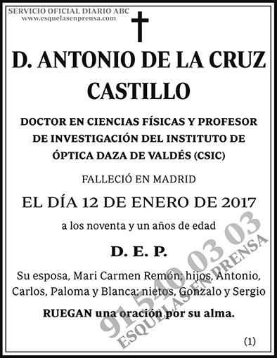 Antonio de la Cruz Castillo
